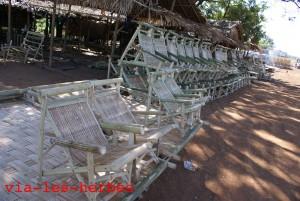 Fauteuils en bambou